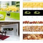 Образцы изображений для стеклянных фартуков