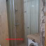 Душевая кабина с раздвижными дверьми