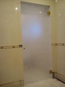 стеклянная дверь в ванную фото