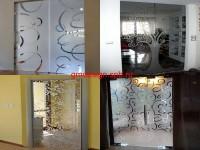 декоративная пленка на стекло с рисунком