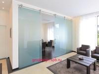 Раздвижные стеклянные перегородки премиум класса