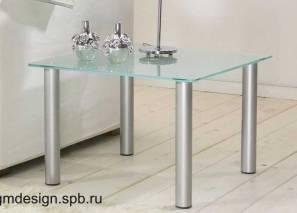 Parma 8769 рублей ДхШхВ: 60х60х40 стекло 8мм., ножка D50
