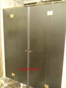 стеклянные раздвижные двери для ванной комнаты