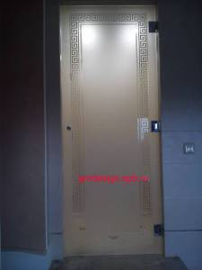 двери стеклянные для бани и сауны цена