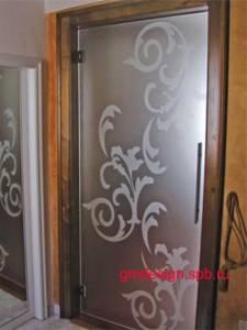 двери межкомнатные стеклянные