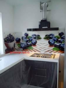 стеклянные фартуки на кухню с фотопечатью каталог