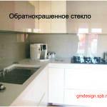 стеклянный фартук для кухни фото